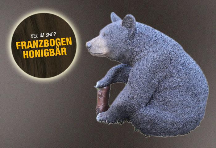 Franzbogen 3D-Tier Honigbär
